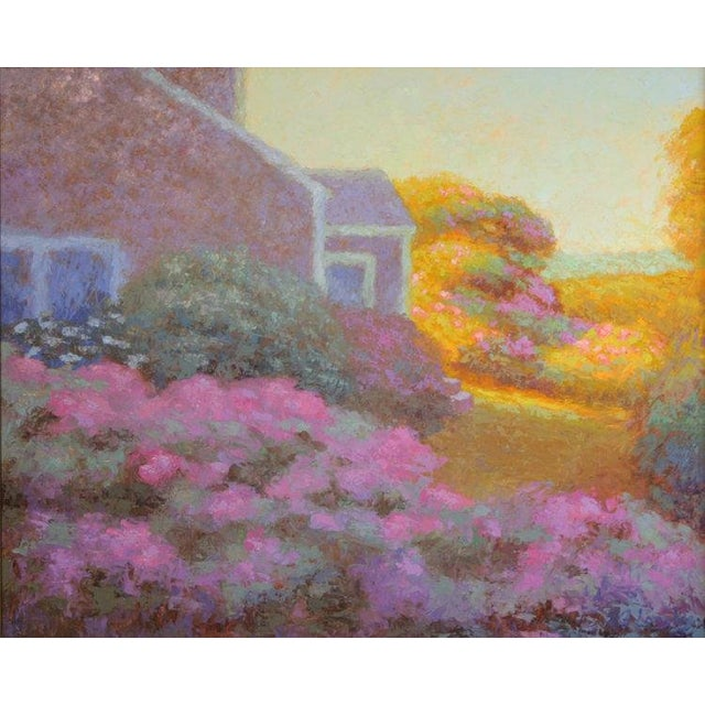 Rob Longley, Rosa Rugosa, Late Afternoon Painting, 2017 For Sale