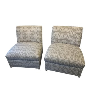 Modern Mitchell Gold Archer Chairs - A Pair For Sale