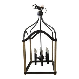 Industrial Quiozel 6 Light Chandelier For Sale