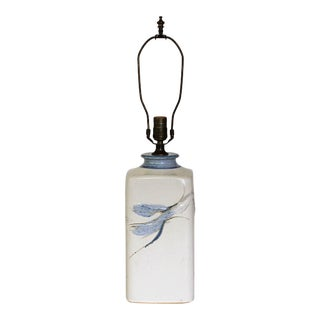 Pottery Table Lamp For Sale