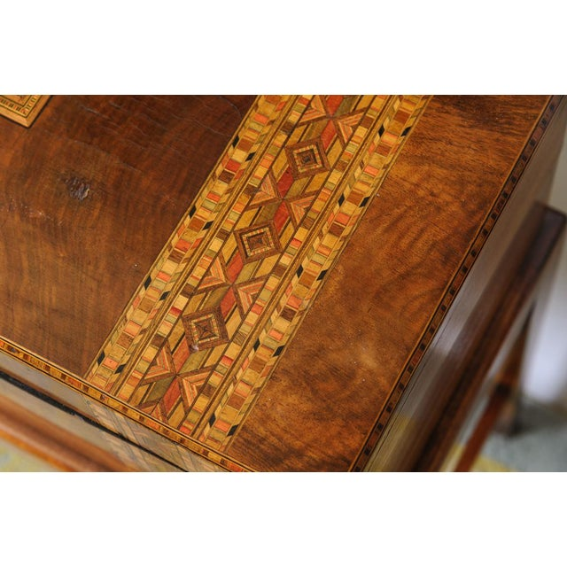Mid 19th Century Writing Box on stand For Sale - Image 5 of 11
