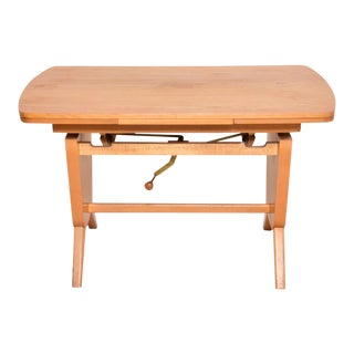 Vintage Danish Max Bohme Fabrikate Writing Desk For Sale