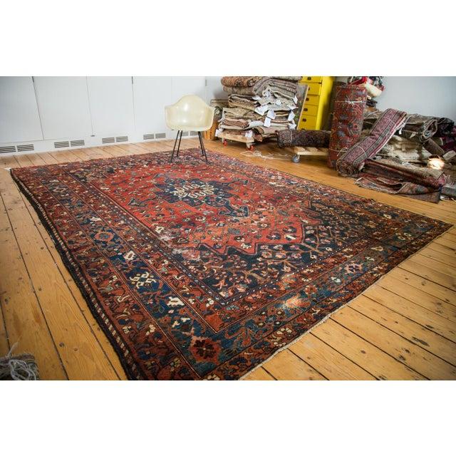 "Vintage Distressed Bakhtiari Carpet - 8'7"" X 11'8"" - Image 4 of 10"