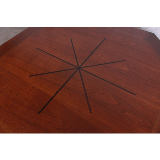 1960s Edward Wormley for Dunbar Janus Collection Game Table For Sale - Image 5 of 12