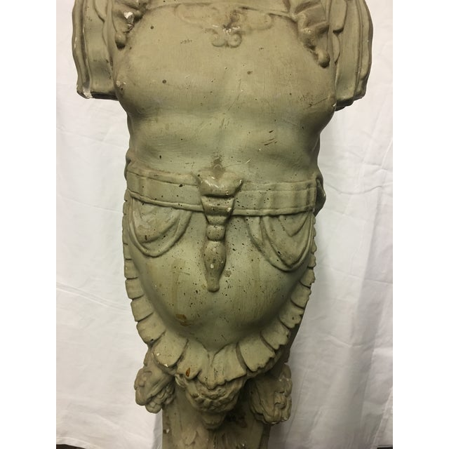 19th Century Plaster Fireguards - Pair - Image 6 of 9