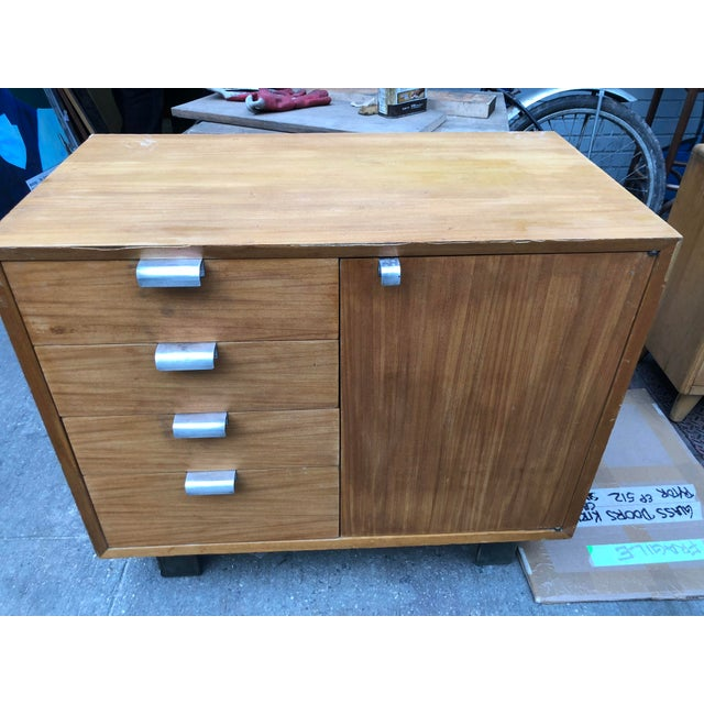 Brown 1960s Mid-Century Modern George Nelson for Herman Miller Chest For Sale - Image 8 of 10