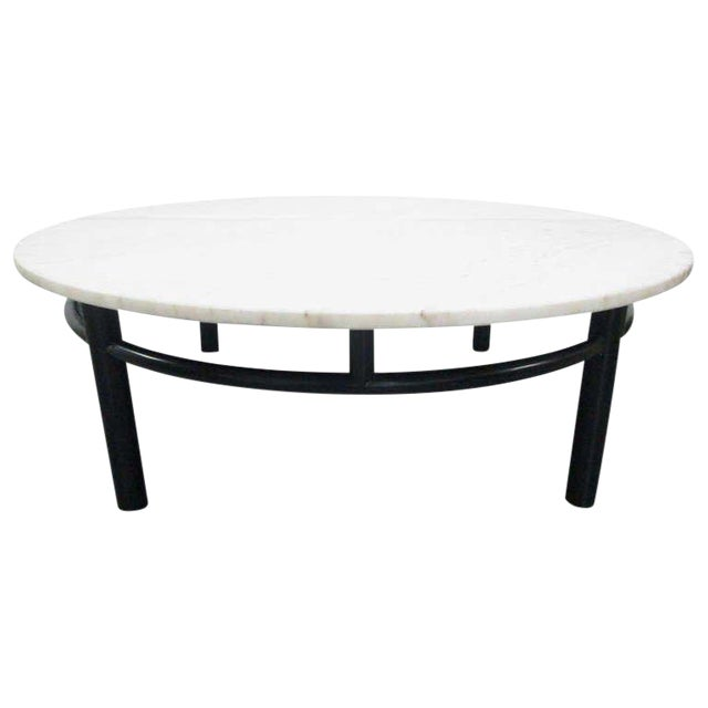 Edward Wormley for Dunbar Marble Top Coffee Table For Sale