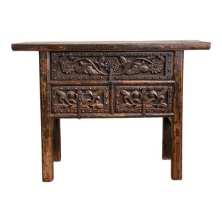 Circa 1830 Chinese Country Chest For Sale