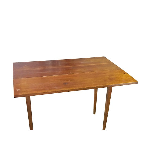 Vintage Modern Farmhouse Drop-Leaf Table - Image 3 of 5