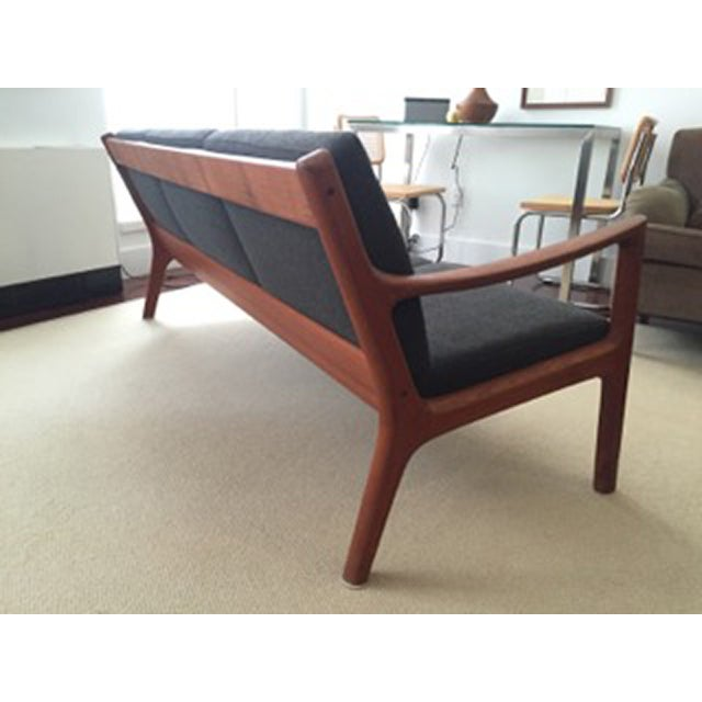 Ole Wanscher Teak 3-Seat Sofa - Image 7 of 7