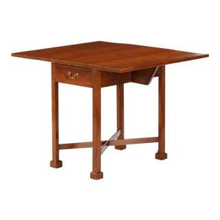 Antique Chippendale Cherry Pembroke Table For Sale