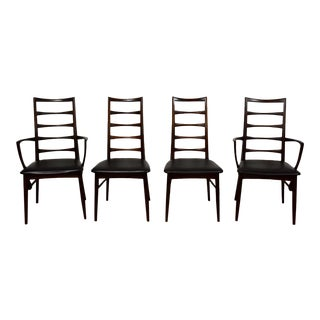 "Danish Rosewood ""Lis"" Dining Chairs - Set of 4"