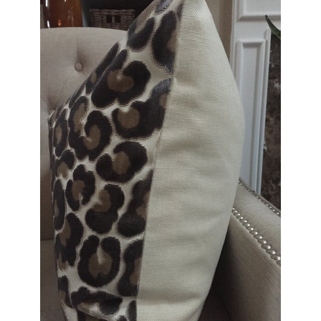 "Kravet Kravet Couture ""Hunt Is On"" Animal Print Pillow Covers - a Pair For Sale - Image 4 of 6"