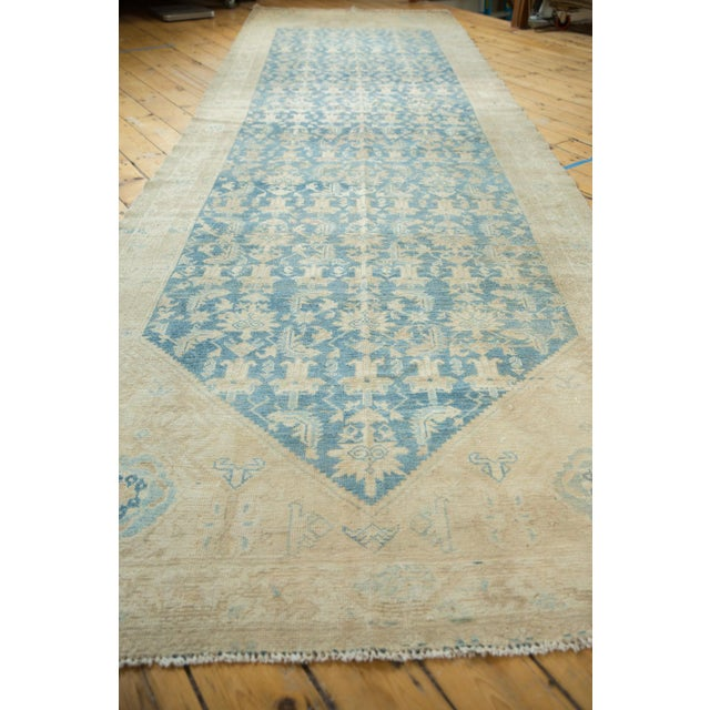 """Textile Vintage Distressed Malayer Rug Runner - 5'3"""" X 16'5"""" For Sale - Image 7 of 13"""