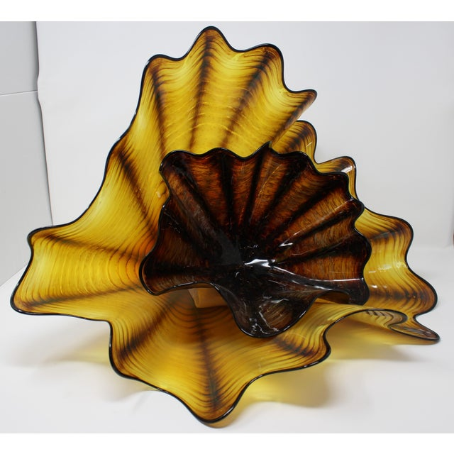Dale Chihuly Dale Chihuly Sea Form Art Piece For Sale - Image 4 of 5