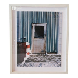 Door With Barrel Framed Photograph For Sale
