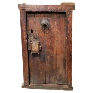19th Century Dogon Door With Casing For Sale