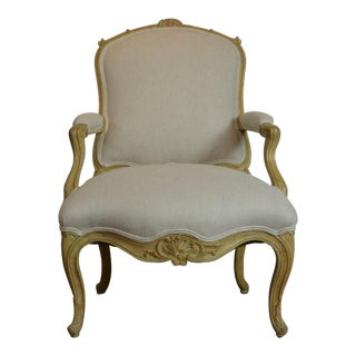 1950s Vintage Louis XV Style Arm Chairs For Sale