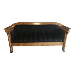 Swedish Biedermeier Revivial Sofa For Sale