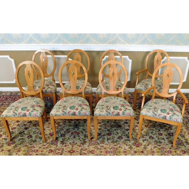 Ethan Allen Country Colors Wheat Dining Set - Image 7 of 11