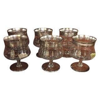Dorothy Thorpe Glasses - Set of 6 For Sale
