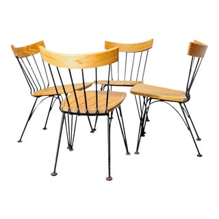 1950s Allegro' Dining Chairs by Lee Woodard - Set of 4 For Sale