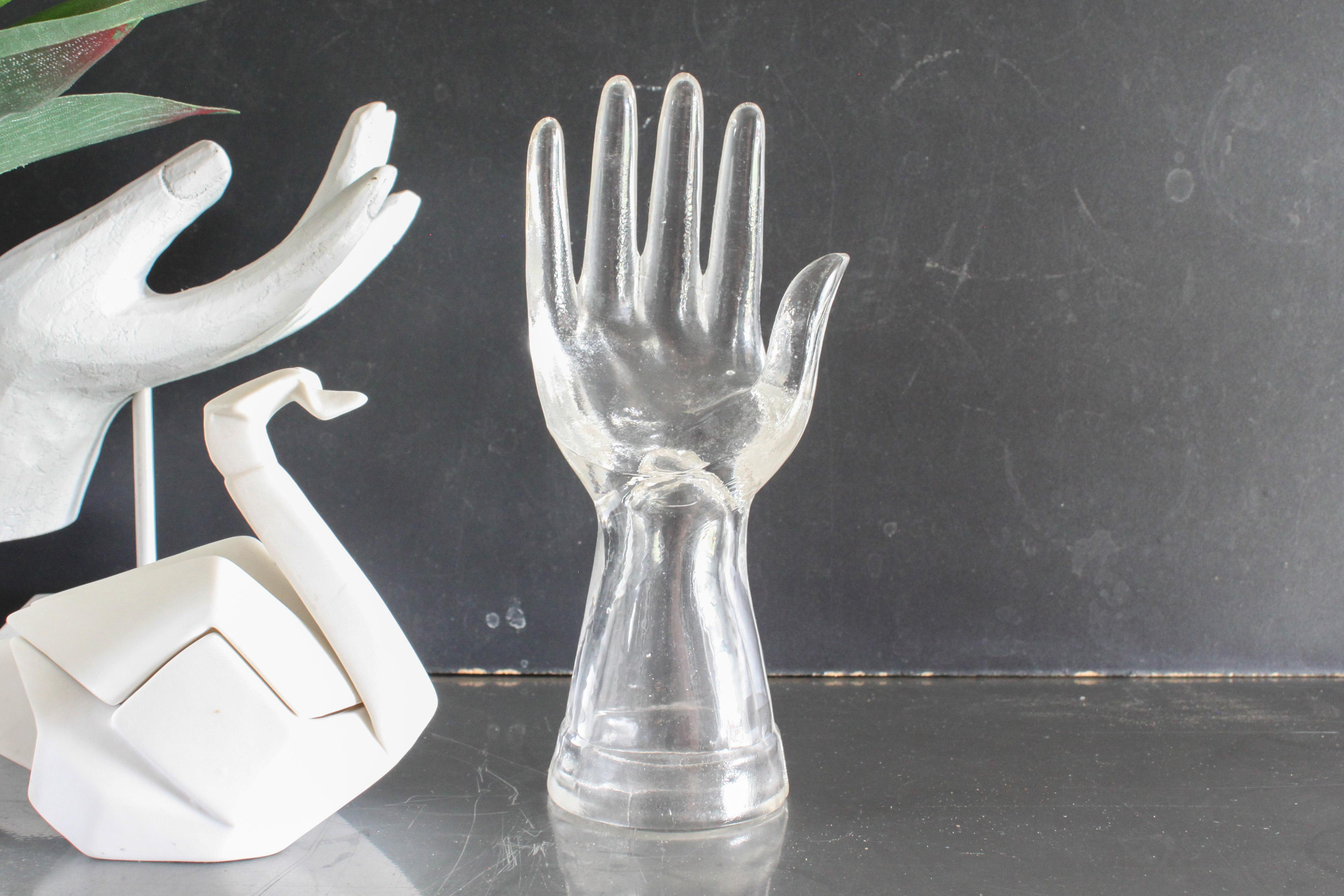 Vintage Glass Ring Holder