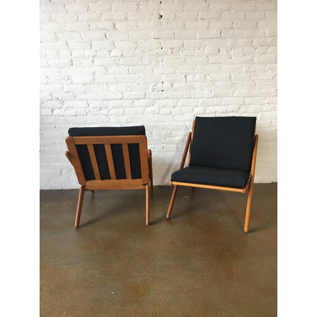 """Vintage """"Z"""" Chairs - A Pair - Image 3 of 5"""