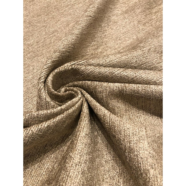 Modern Robert Allen Design Arches Cashmere Gold Upholstery Fabric - 4 3/4 Yards For Sale - Image 3 of 5
