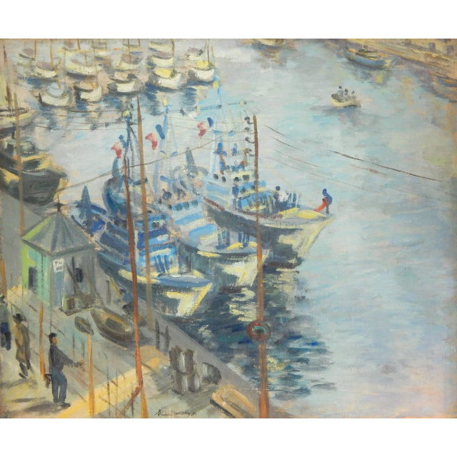 Roudens Maroselli Oil on Canvas For Sale - Image 5 of 8