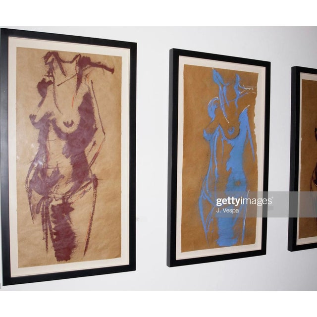 Paper Greg Lauren Contemporary Painting For Sale - Image 7 of 8