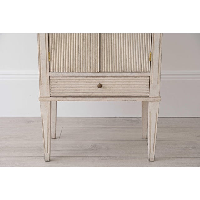 Pair of Lotta Gustavian Style Nightstands For Sale - Image 12 of 13