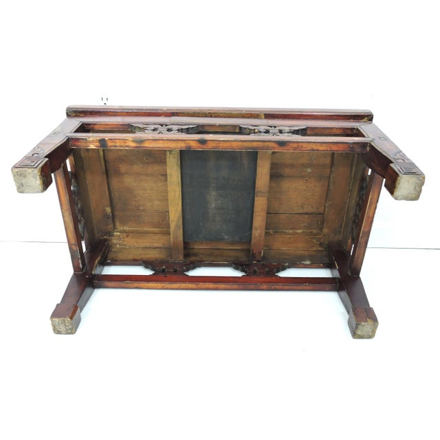 Antique Chinese Wood 'Opium' Side or Coffee Table, 19th Century For Sale In Tampa - Image 6 of 6