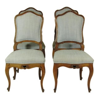 18th C. Italian Side Chairs - Set of 4 For Sale