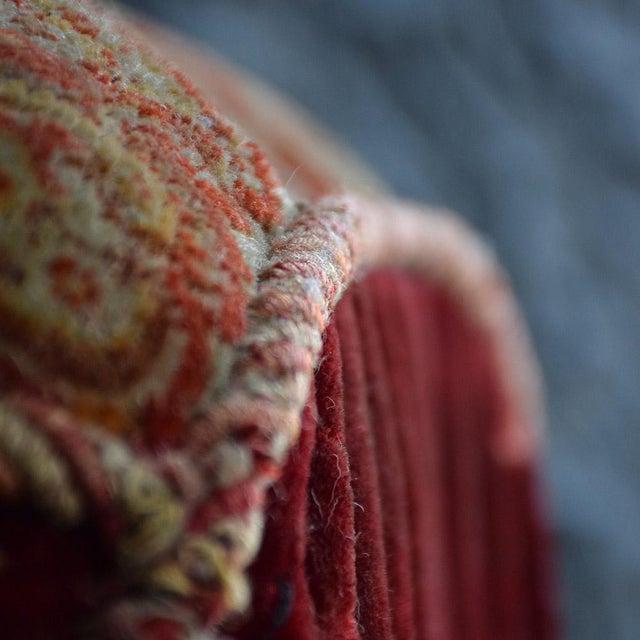 1910s 19th Century English Ebonised Carpet Stool For Sale - Image 5 of 13