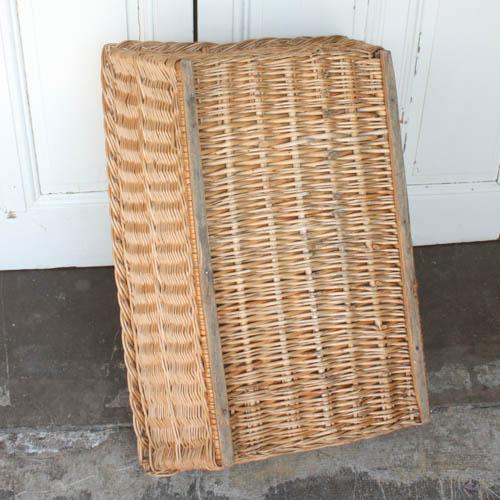 Vintage French Laundry Basket - Image 7 of 8