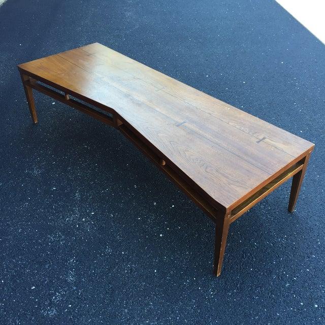Lane Tuxedo Bow Tie Erfly Mcm Coffee Table Image 2 Of 11