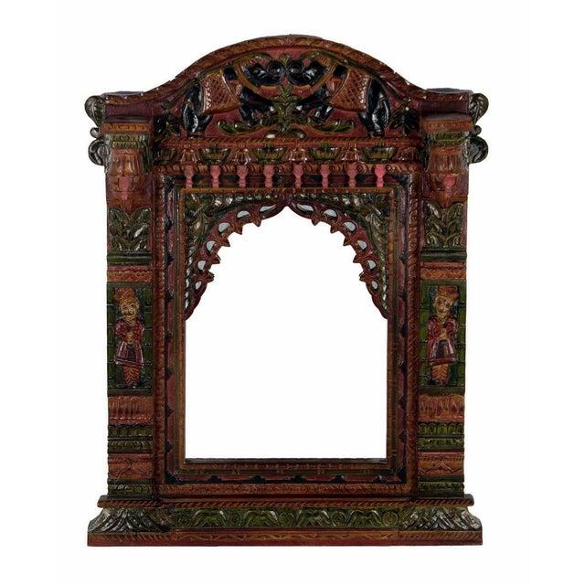 Hand Painted Royal Maharaja Mirror Frame - Image 1 of 5