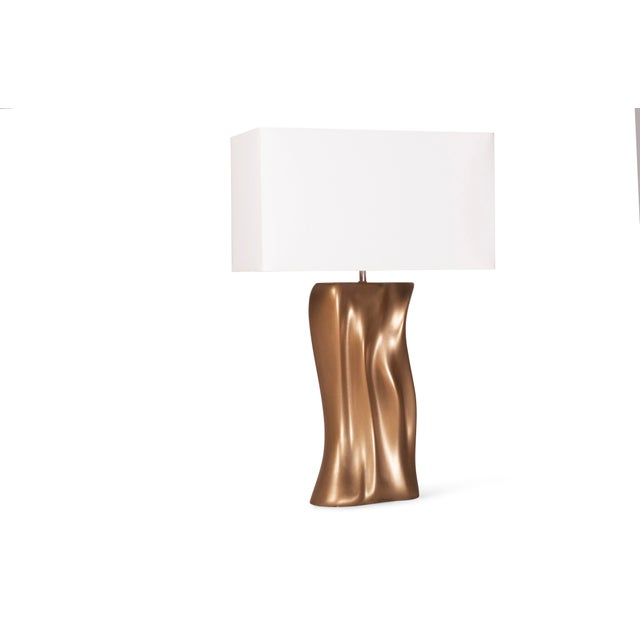 Not Yet Made - Made To Order Amorph Doris Table Lamp - Gold Finish For Sale - Image 5 of 9
