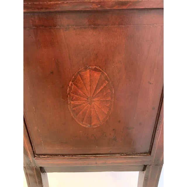 19th Century Mahogany & Satinwood Book Trough Shelving Unit For Sale - Image 9 of 13