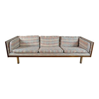 Stunning Danish Modern Rosewood Case Sofa by Jydsk For Sale