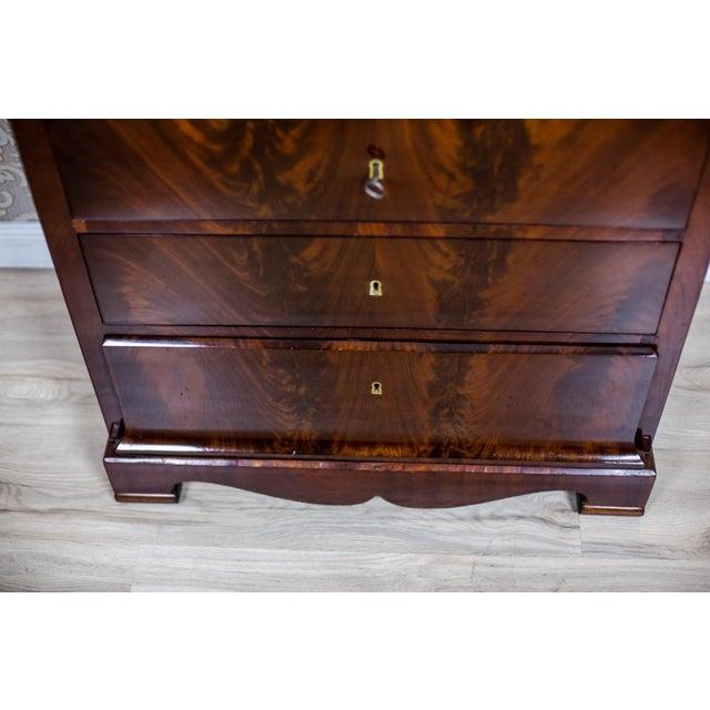 Biedermeier 1860s Biedermeier Dresser-Vanity Table For Sale - Image 3 of 13