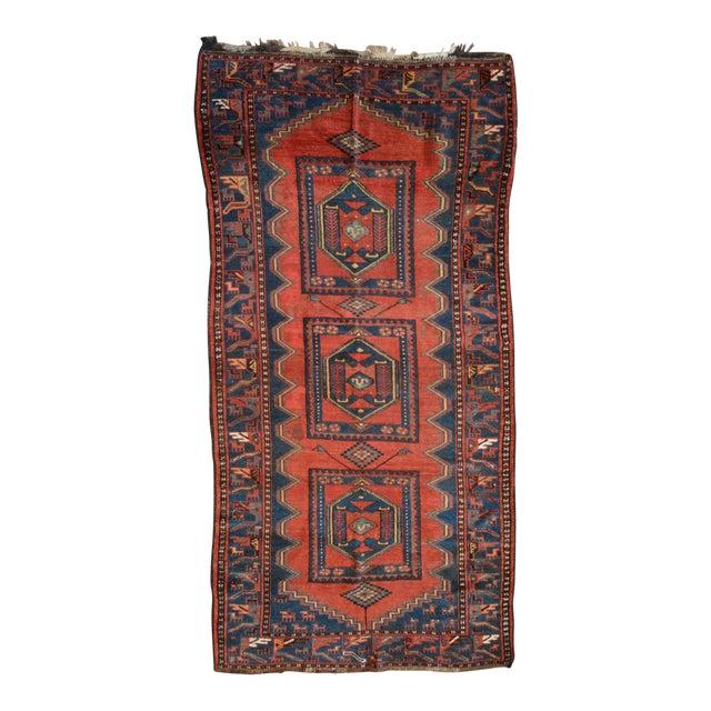 Antique Persian Kelardasht Rug Runner - 4′3″ × 8′6″ For Sale