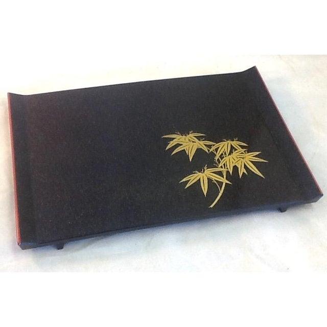 Mid-Century Modern Asian Melamine Tray - Image 2 of 4