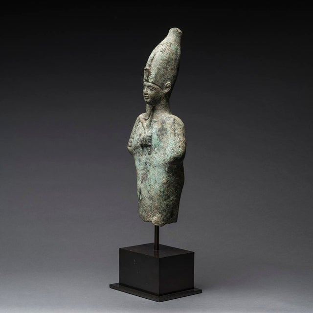Please update measurements. Although not inscribed, this remarkably large figure can be identified as a depiction of...