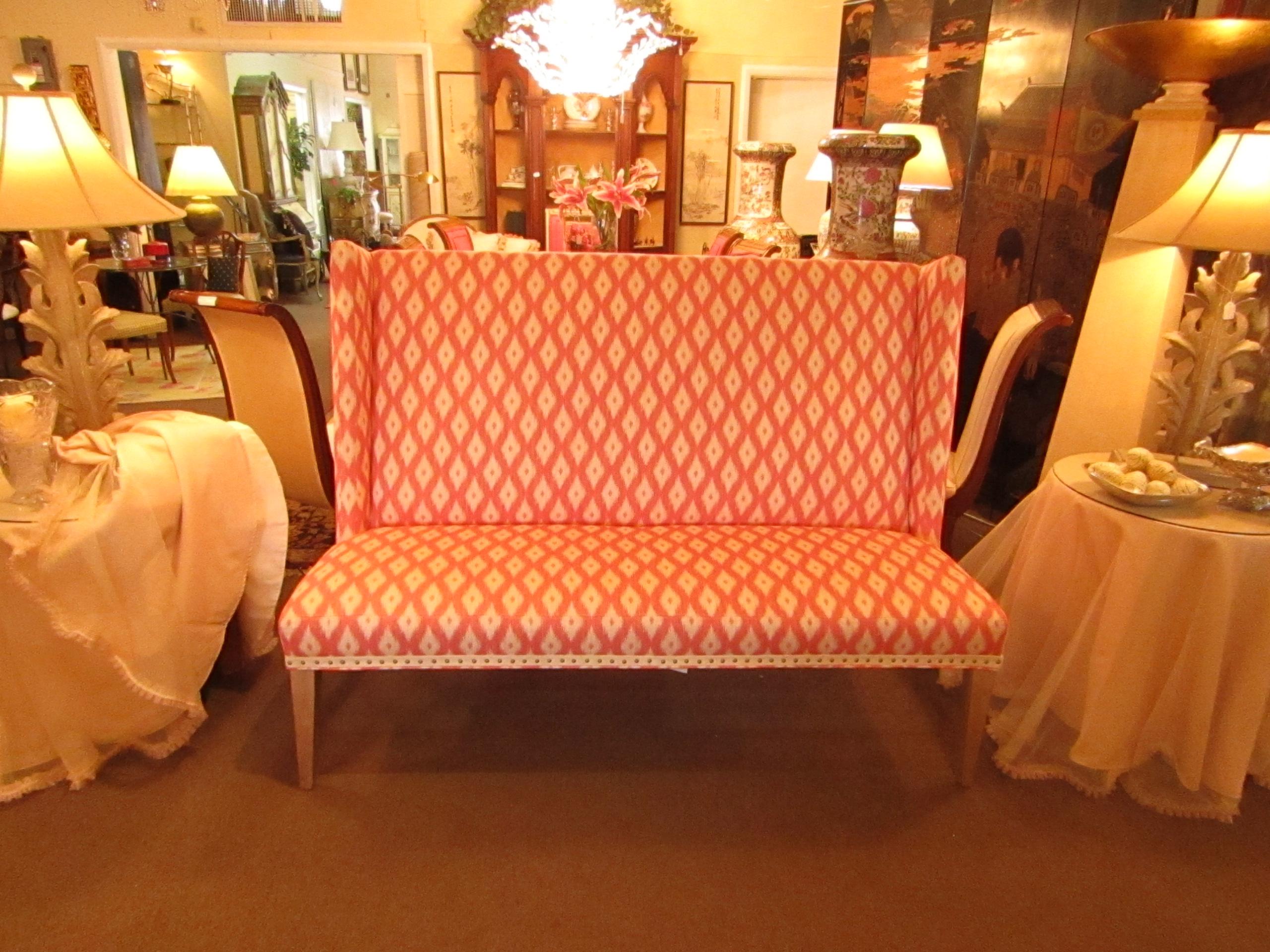 Lee Furniture Coral Upholstered Loveseat   Image 4 Of 5