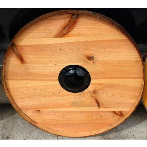 Vintage Old Stock Coffee Barrel Lid - Image 3 of 3