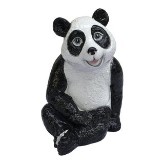 Italian Terra-Cotta Panda Baby For Sale