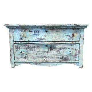 Upclycled Two Drawer Dresser / Nightstand