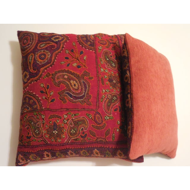 Hand Embroidery Antique Pillows - A Pair - Image 9 of 10